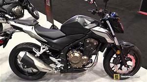 Honda Cb 500 2017 : 2017 honda cb500f walkaround 2016 aimexpo orlando youtube ~ Medecine-chirurgie-esthetiques.com Avis de Voitures