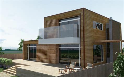 Modernes Holzhaus Bauen  Welche Vorteile Bietet Ihnen Der