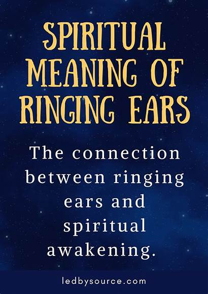 Spiritual Meaning Ringing Ears Awakening Spirit Mean