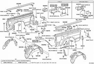2016 Bedside Parts Diagram