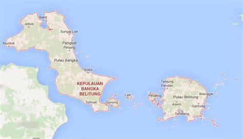 nama kabupaten kota  provinsi kepulauan bangka belitung
