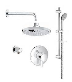 16 Gpm Shower Head by Grohe Cosmopolitan Pbv Dual Function Shower Kit 117166