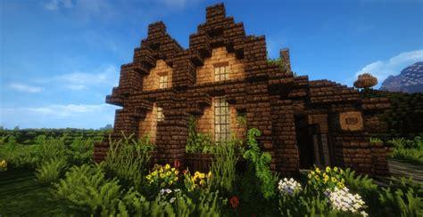 tuscan tavern minecraft house design
