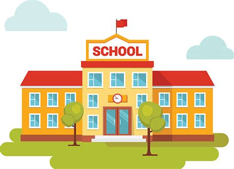 Free Download Best School Building Clipart On Clipartmag.com