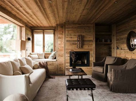 Rustic Mountain Chalet In Switzerland Provides Relaxed