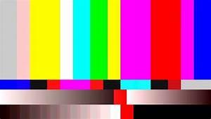 TV Noise 0212: Retro TV color bars (Loop). Motion ...