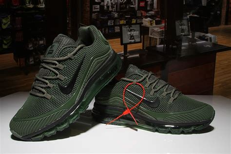 Men's Nike Air Max 2018 Elite Shoes Army Green Online Store
