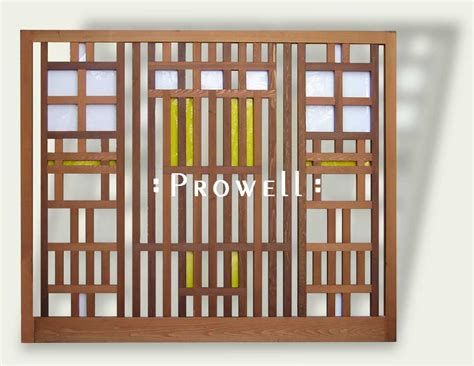 wood trellis panels   prowell woodworks