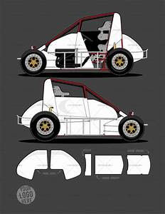 dirt midget template srgfxcom With race car graphic design templates