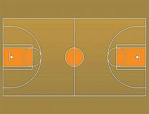 background clipart basketball court pencil and in color With outdoor basketball court template