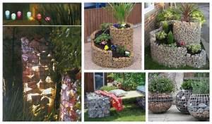 Pinterest Ohne Anmeldung Garten : 10 tolle diy ideen gabionen als tolle garten dekoration ~ Watch28wear.com Haus und Dekorationen