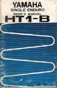 1966 Yamaha Yg1k Motorcycle Owners Manual