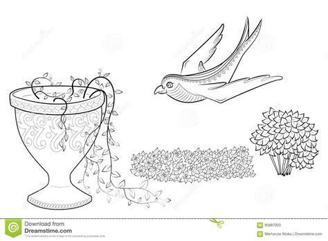 vaso con fiori da colorare disegni da colorare fiore e vaso con vaso fiori da