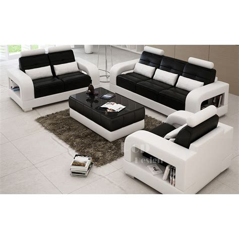 canapes cuir design salon set canapés personnalisable en cuir design salerno