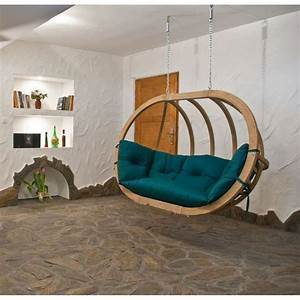 Chaise Suspendue Jardin : chaise suspendue vert en bois globo royal amazonas trendy homes ~ Teatrodelosmanantiales.com Idées de Décoration