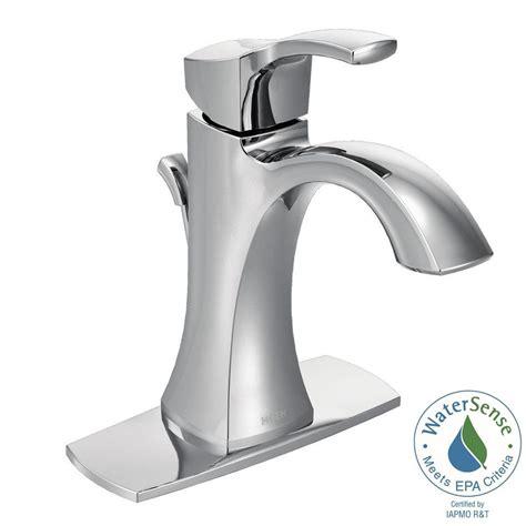 Single Handle Bathroom Faucets by Moen Voss Single Single Handle High Arc Bathroom
