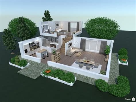 isometric interior design  planner  youtube
