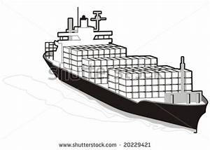 Merchant Ship Clipart