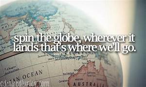 Kayla's Tra... World Globe Quotes