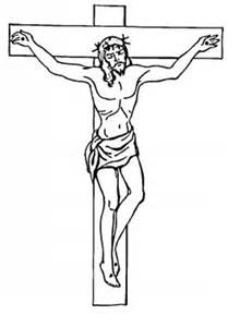 Jesus Cross Coloring Pages