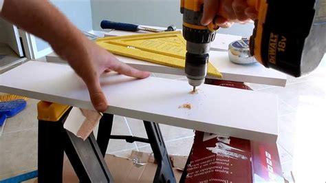 closet rod instalation with no wall studs