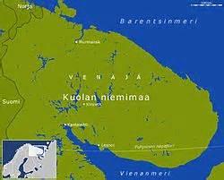 fläche russland lage der halbinsel kola zwischen der barentssee und dem weißen meer