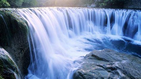 Waterfall Big Stone Nature 1080p #15039 Wallpaper