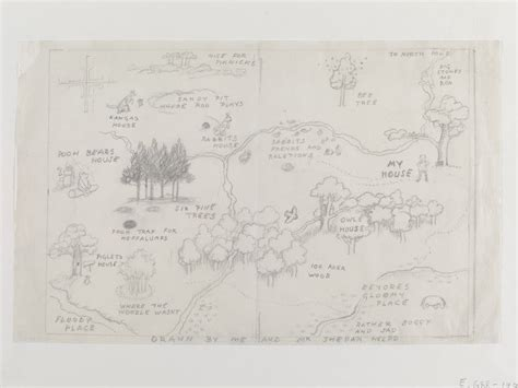 A Map Of The Hundred-acre Wood