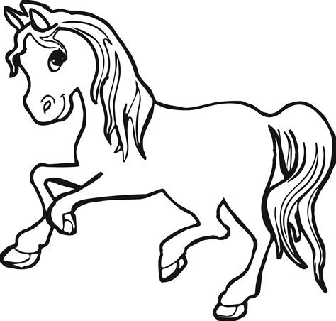 horse coloring pages wecoloringpagecom