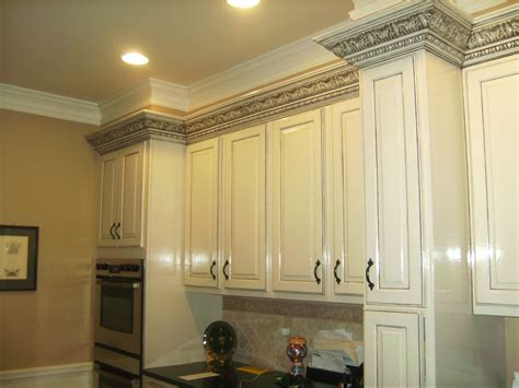 White Custom Kitchen Cabinets With Black Gray Charcoal