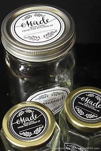 clear mason jar labels this neat idea from dixienotes used avery