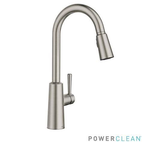 faucet com 7402srs in spot resist stainless by moen