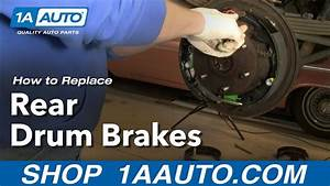 How To Install Replace Rear Drum Brakes Chevy Gmc Pickup Tahoe Suburban 92-99 1aauto Com