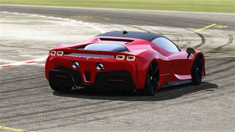The sf90 has 488 cues, f8 tributo cues and maybe a little laferrari too. Ferrari SF90 Stradale at Top Gear - YouTube