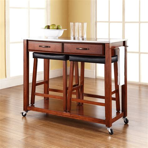 kitchen island with stools kitchen island cart with stools