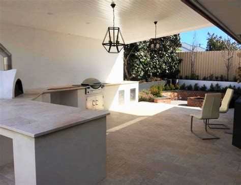 Outdoor Cabinets Perth by Outdoor Kitchens Perth City Limits Landscapes