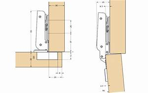 Overlay Cabinet Hinges 35mm Cup Dia Frame Mount Soft