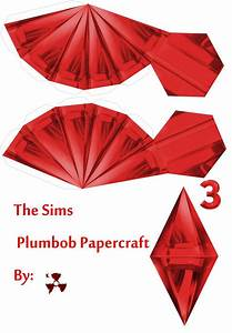 the sims red plumbob by killero94 on deviantart With sims plumbob template