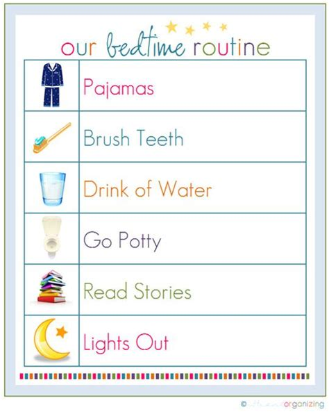 Best 25+ Bedtime Routine Chart Ideas On Pinterest  Kids