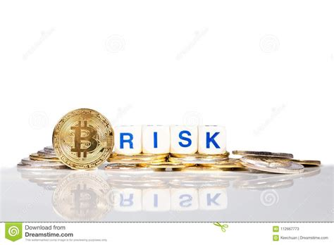 Summary on the surface, biden's tax plan appears to attack bitcoin. Conceptual Cryptocurrency Bitcoin With The Word Risk Stock Image - Image of currency, white ...