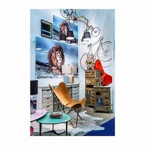 Tableau En Verre : tableau en verre proud lion 120x180cm kare design ~ Melissatoandfro.com Idées de Décoration