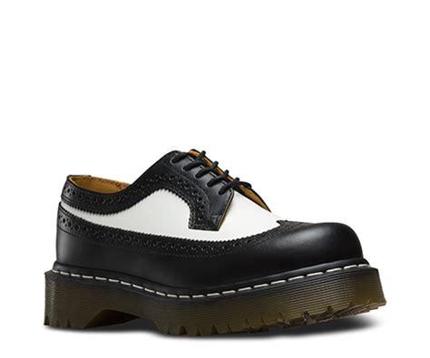 goedkoop dr martens schoenen dames dr martens  smooth brogue bex zwart wit goedkoop