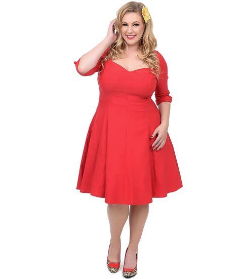 Plus Size Red Dress VS Little Black Dress u2013 Carey Fashion