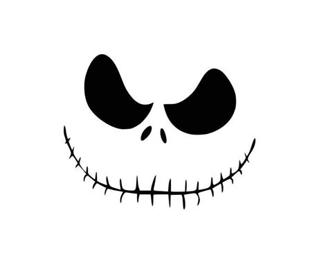 Nightmare Before Christmas Jack Face Svg  – 211+ SVG PNG EPS DXF File