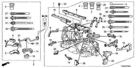 Genuine Honda Wire Harness Engine