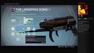 Destiny  The Lingering Song Handcannon!!!!(Best Hand ...