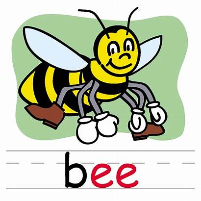 Bee Spelling Clip Clipart Phonics Words Sight