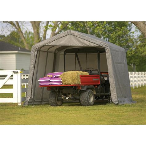 shelter logic shed shelterlogic 10x10x8 sport shed in a box 44572