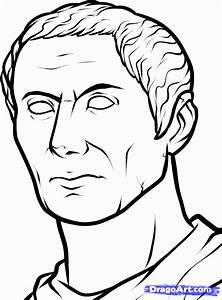 How to Draw Caesar, Julius Caesar, Step by Step, Stars ...