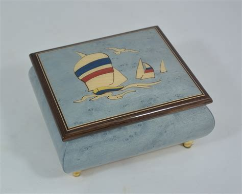 Nautical Theme Music Box  Sorrento Music Boxes
